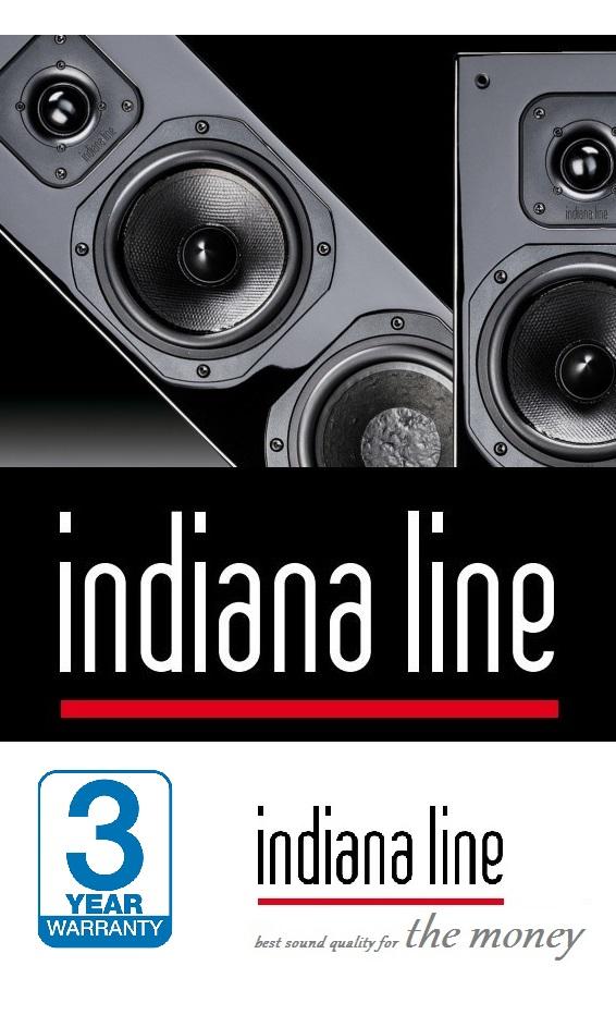 Indiana Line - Italská kvalita a design reprosoustav za dostupné ceny..