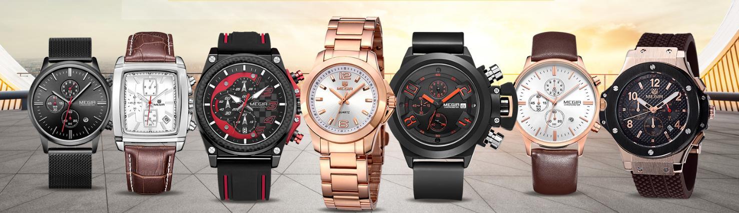 Značka MEGIR byla založena v roce 1997 v centru Londýna. MEGIR Watch Co. 5c618be708e