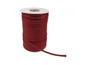 elecaudio nr 10 red braided sleeve nylon pp 07 15mm